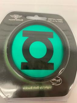 DC Comics Green Lantern Belt Buckle Light Up  USB Chargeable