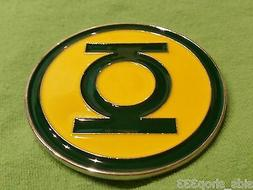 GREEN LANTERN LOGO ~ CLASSIC HAL Jordon METAL BELT BUCKLE ~