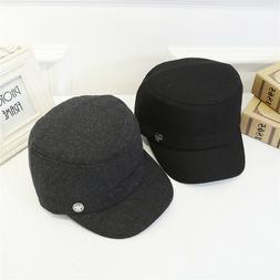 Handsome Men's Warmer Felt Outback Hat Belt Buckle Fedora Ca