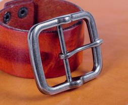 Heavy Duty Center Bar Pin Belt Buckle Replacement For 40MM L