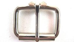 Heavy Duty Stainless Finish Roller Belt Buckle for Up To 1 3