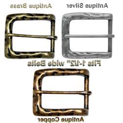 "Heel Bar Vintage Style Replacement Belt Buckle fits 1-1/2"" ="