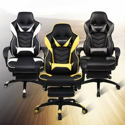 High Back Racing Computer Gaming Chair Ergonomic Office Desk