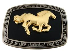 Horse Belt Buckle Women Ladies Cowgirl Rodeo Large Western C