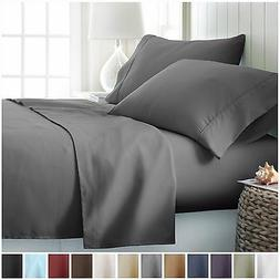 Egyptian Comfort Hotel Luxury 4 Piece Deep Pocket Bed Sheet
