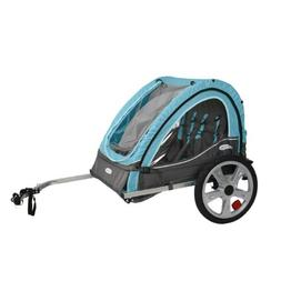 Instep Take 2 Kids/Child Bicycle Trailer, Blue Grey Foldable