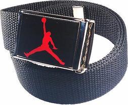 Jordan Jumpman Black Red Belt Buckle Bottle Opener Adjustabl