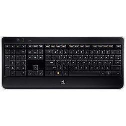 Logitech K800 Wireless Illuminated Computer Keyboard 920-002