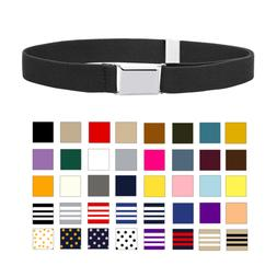 Kids And Baby Adjustable And Elastic Dress Stretch Belt With