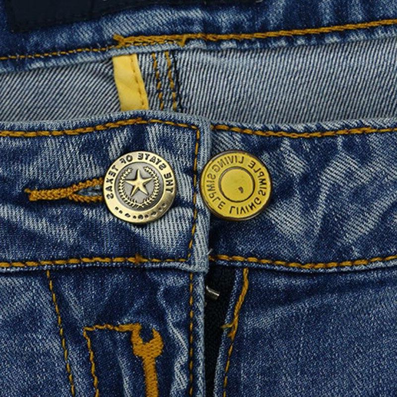 10pcs Jeans Adjustable Detachable For <font><b>Belt</b></font> Women