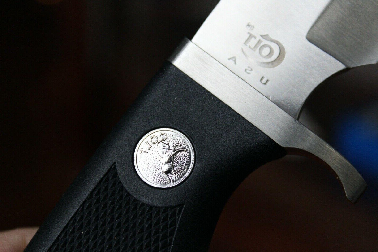 1994 United Cutlery COLT Hunter Sporting Knife, Belt Buckle