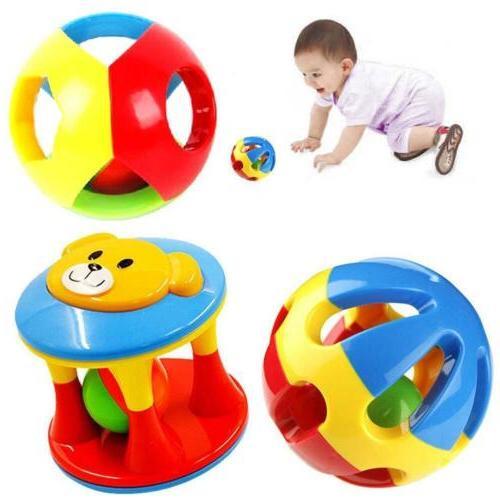 2016 Cute Handbells Musical Developmental Toy Bed Bells Kids