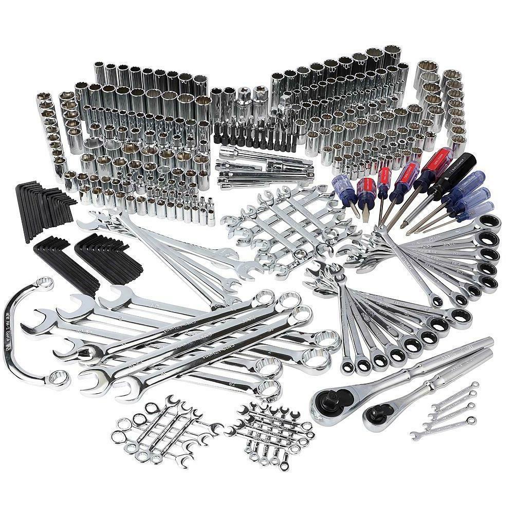 Craftsman 348 Pc Universal Mechanics Tool Set with Reversibl