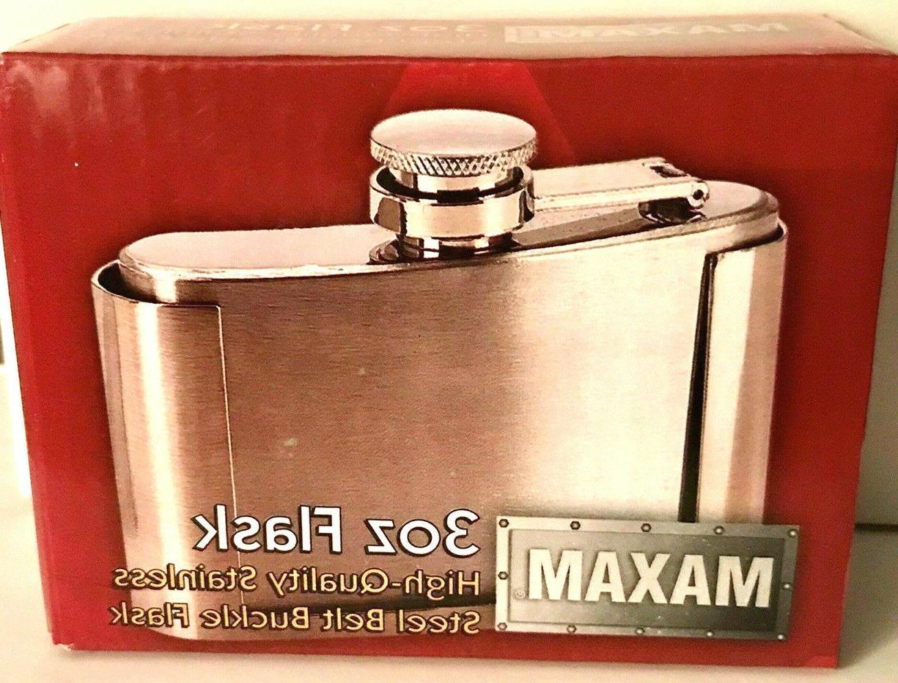 Maxam 3oz Belt Buckle w/Stainless Steel Construction -