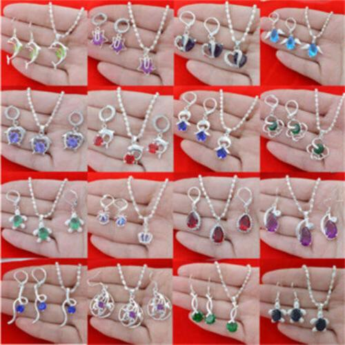 925 sterling silver topaz gemstone pendant ring