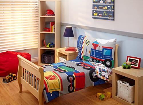 Everything Kids Toddler Bedding Set, Choo Choo
