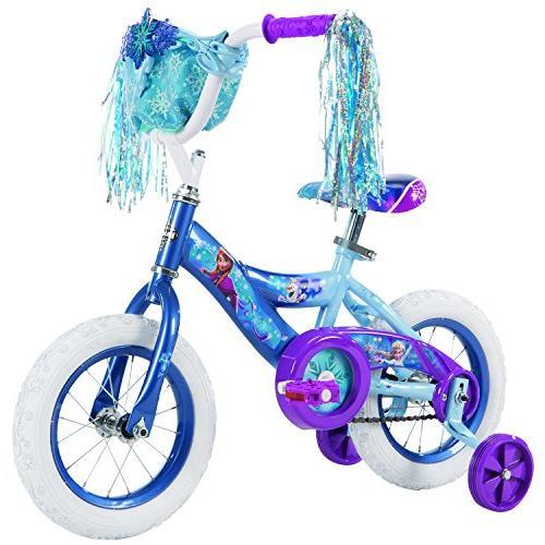Huffy 12 inch Disney Frozen Girls Bike, Blue/Purple