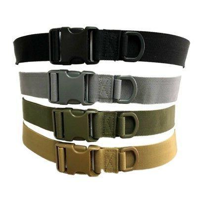 Adjustable Men Belt Buckle Combat Waistband Military Tactica