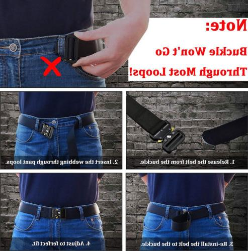Adjustable Buckle Rescue