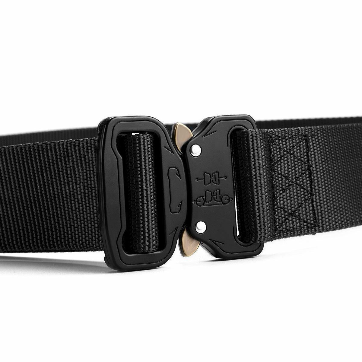 Adjustable Men Buckle Waistband Tactical Rescue Rigger