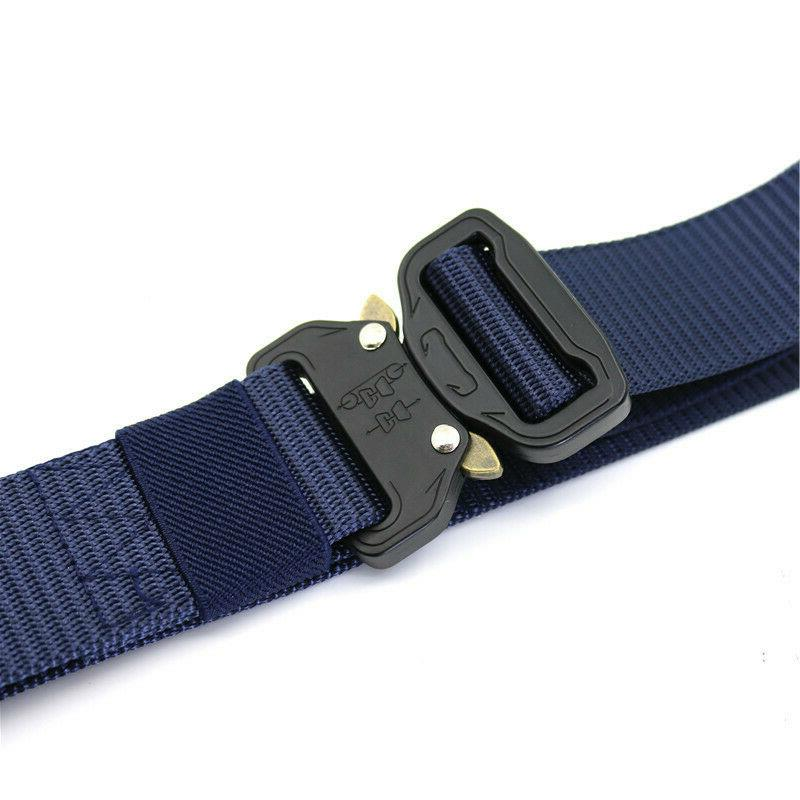 Casual Mens Army Combat Waistband Rescue Belts