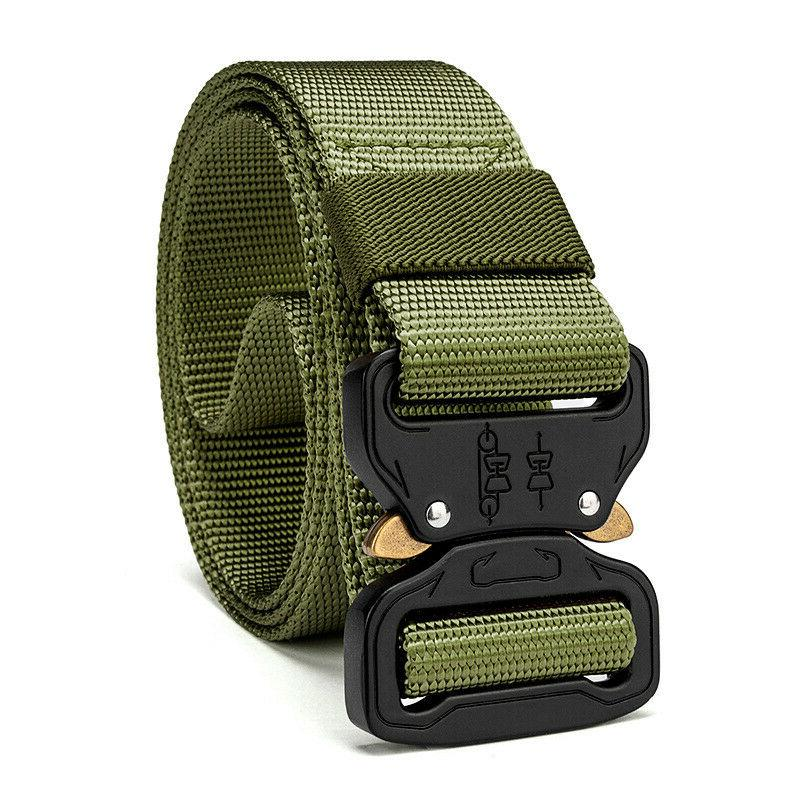 Casual Military Belt Mens Army Rescue Belts