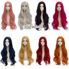 Basic Lolita 80CM Long Wavy Hair Heat Resistant Anime Synthe