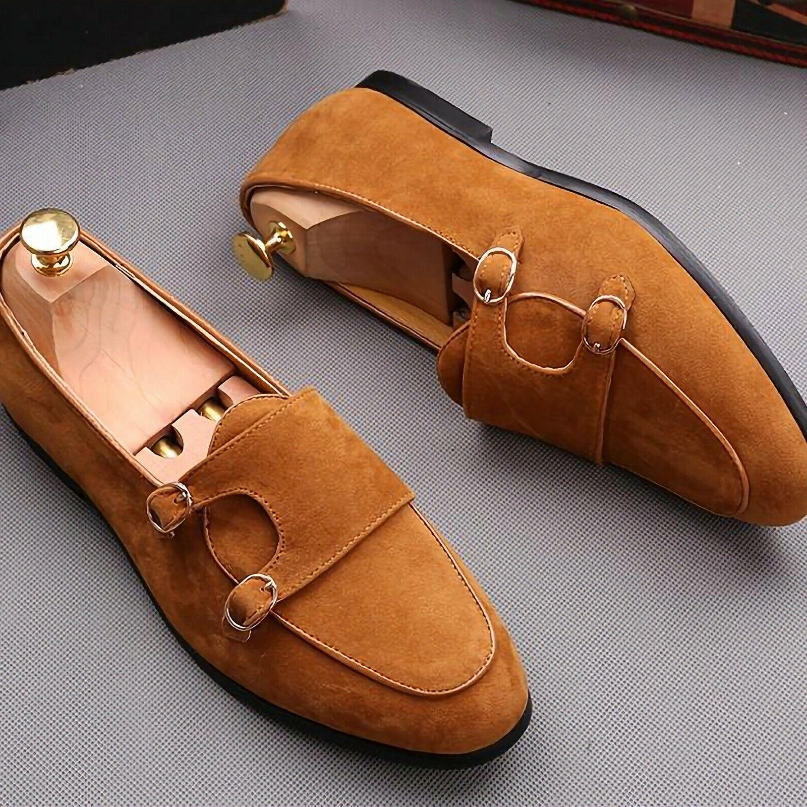 Belt Leather Casual Shoes