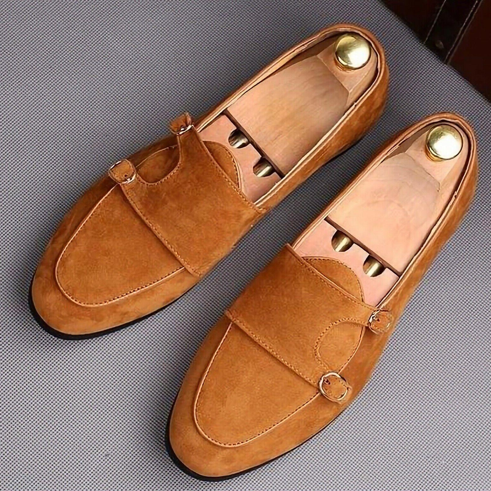 Belt buckle Oxfords Casual