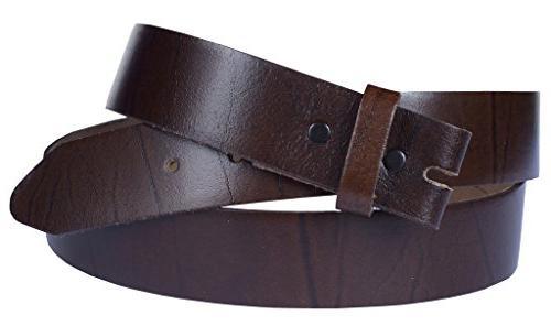 belt for buckles 100 percent top grain