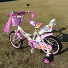"New 16"" Children Girls Kids Bike Bicycle With Training Wheel"