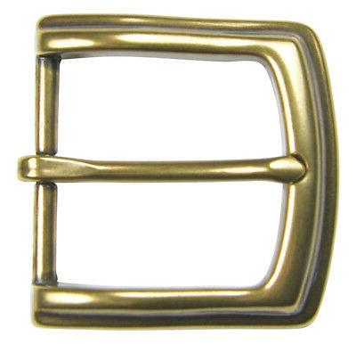 "Brass Pin Belt Buckle for 1 1/2"" Belts - High Quality - NEW"