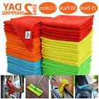 Bulk Microfiber Cleaning Cloth Towels For Cars Kitchen Rags