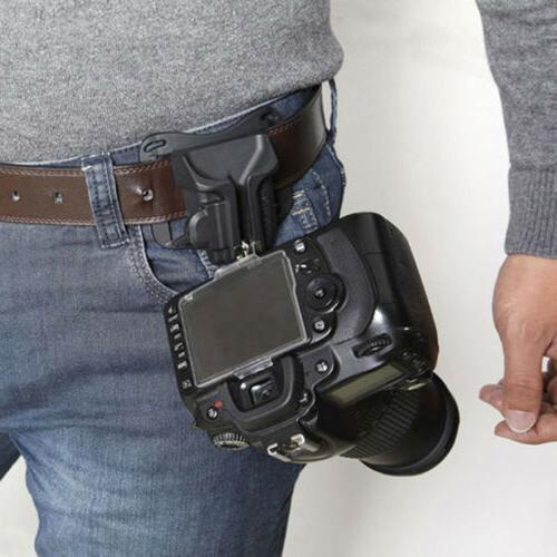 camera waist belt buckle straps hanging clip