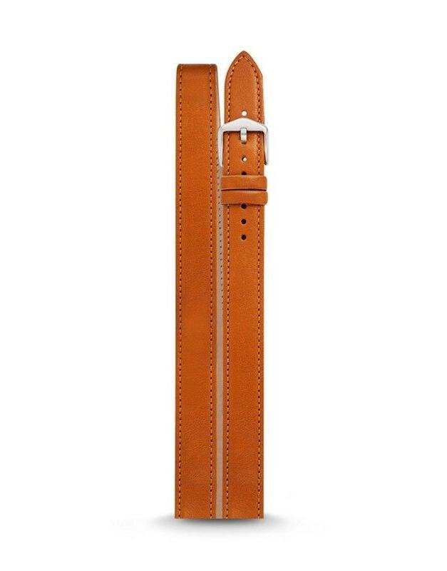 carmel brown belt buckle bar watch band
