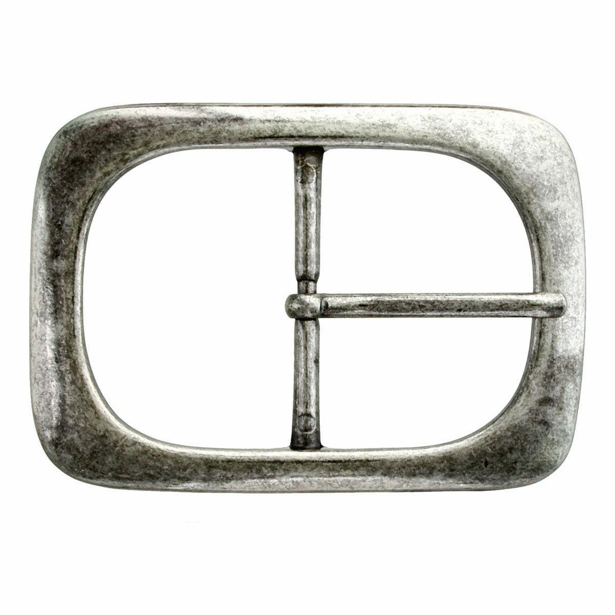 """CENTER BAR REPLACEMENT BELT BUCKLE JT 1-3/4"""" FINISHES"""