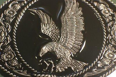 Classic American EAGLE Full Metal BELT COUNTRY Western seller