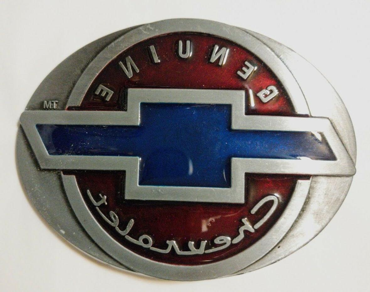 Classic CHEVY logo Belt Buckle Collectible CHEVY