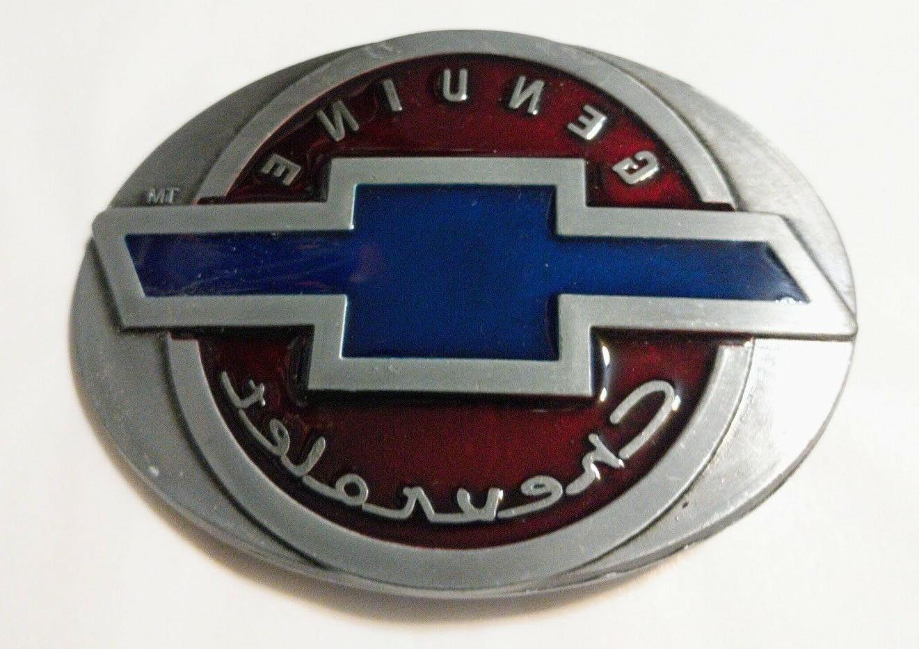 Classic Belt Buckle Collectible CHEVY