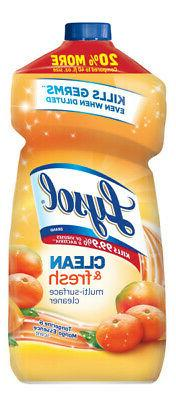 Lysol Clean and Fresh Multi-Surface Cleaner, Tangerine Mango