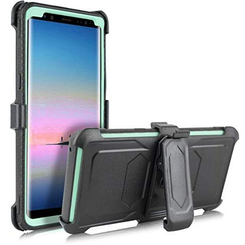 Compatible Note 8 Note 8 Armor Shockproof Protection Cover with Belt Swivel Clip Kickstand Galaxy Note 8