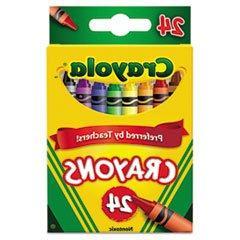 Crayola Crayons, 24 Count