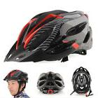 Cycling Bicycle Adult Mens Bike Helmet Red carbon color With