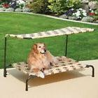Dog Bed Frame Raised Canopy Small Medium Pet Clearance Sale