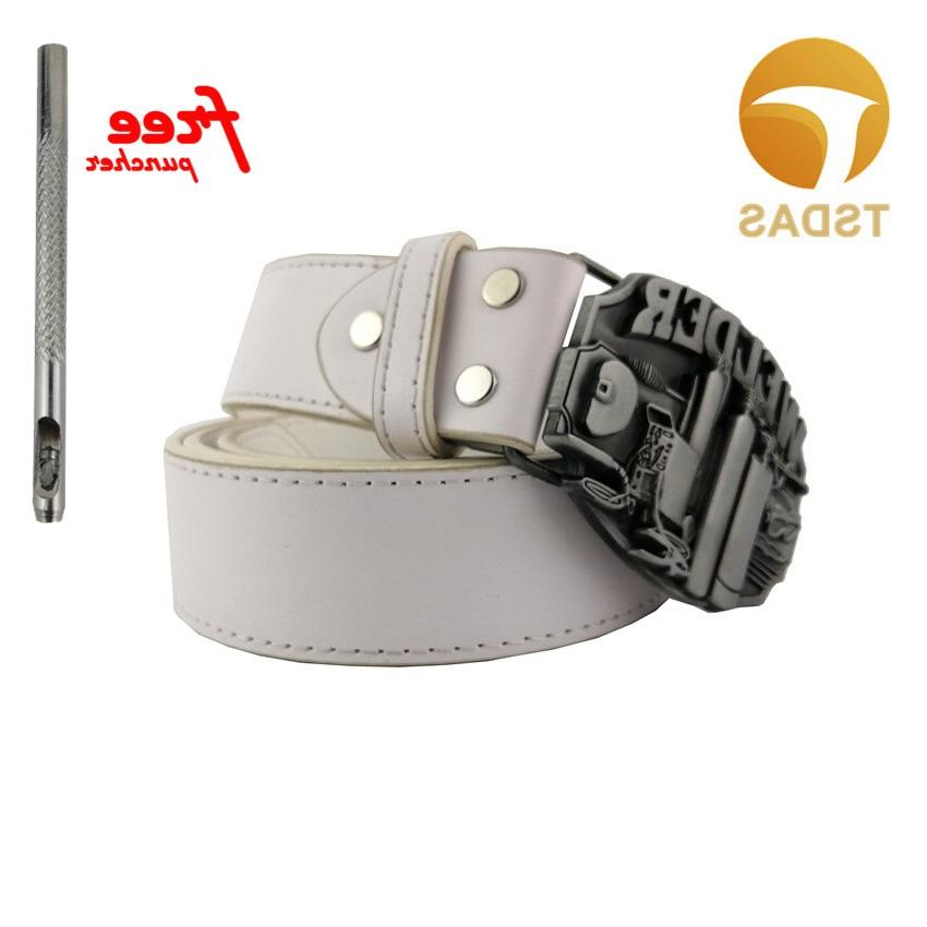 Fashion Silver Pattern <font><b>Buckle</b></font> Gift Free Shipping