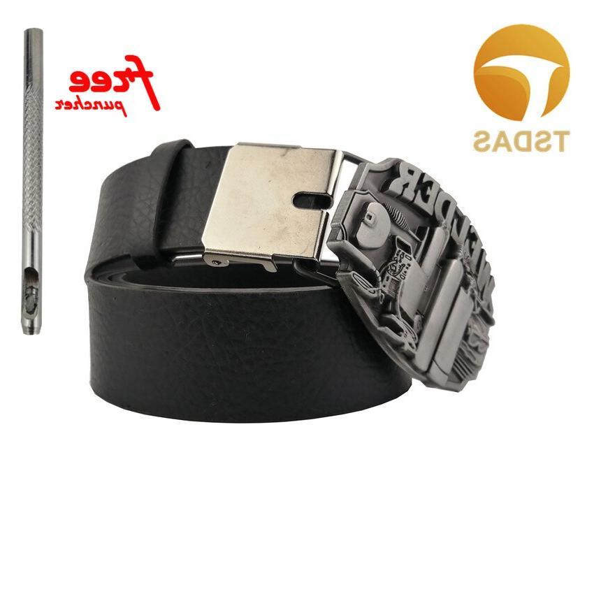 Fashion Silver <font><b>Belt</b></font> <font><b>Buckle</b></font> WELDER Pattern 8.3*6.2cm Metal <font><b>Buckle</b></font> Men's Gift Shipping
