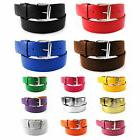 Faux Leather Belt Removable Buckle Golf Baseball Softball Me
