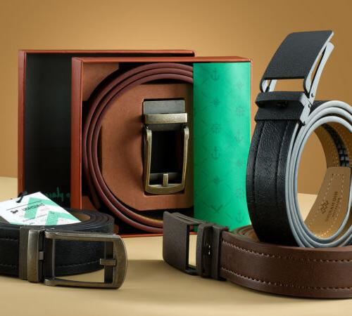 Marino Casual Ratchet Belt with Automatic