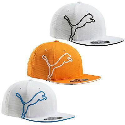 Puma Golf Youth Monoline Snapback Cap Hat  053064 - Flat Bil