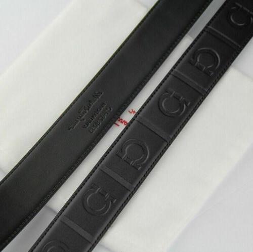 Gray Belt Men's and leather belt